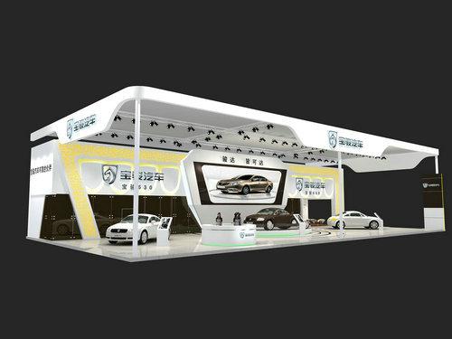 大型展台设计搭建汽车展